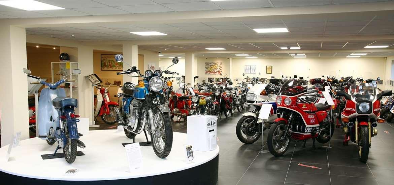 TTDA - David Silver Honda Collection - Motorbikes