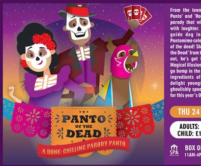 Panto Of The Dead at The Spa Pavilion, Felixstowe