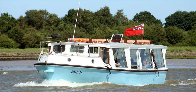 Deben Cruises on the Suffolk Coast