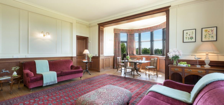 WTS National Trust Sutton Hoo Deben Villa Lounge