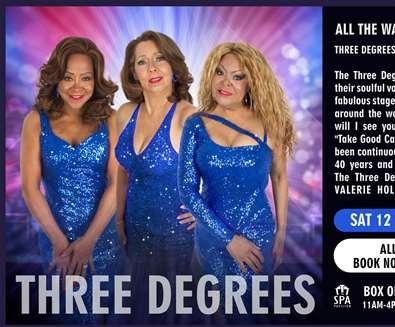 The Three Degrees at..
