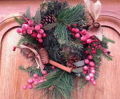 Christmas Wreath Workshop at The Suffolk Punch Trust