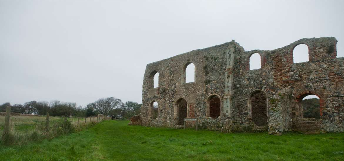 Articles - The Suffolk Coast's Most Haunted - Dunwich Church Ruins