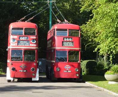 TTDA - East Anglia Transport Museum - Trolley Bus