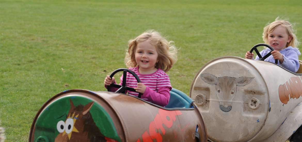 TTDA - Easton Farm Park -Children on ride