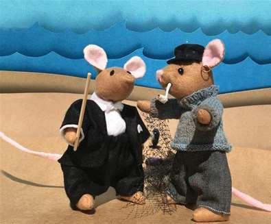 Adventures of Ben & Jim at Aldeburgh Museum