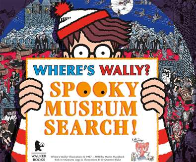 Where's Wally Spooky Museum Search