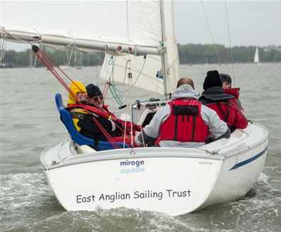 'Push the Boat Out' Success for the East Anglian Sailing Trust