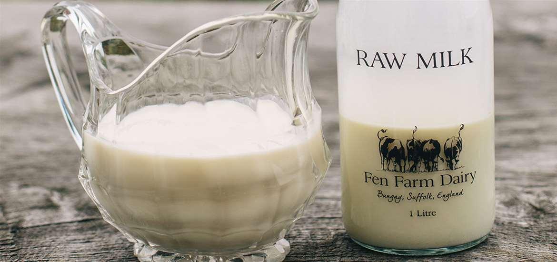 FD - Fen Farm Dairy - Milk and Jug