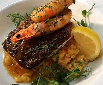 FD - MarkG Seafood Restaurant - Fish Dish