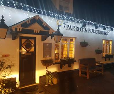 FD - The Parrot - Exterior at Night