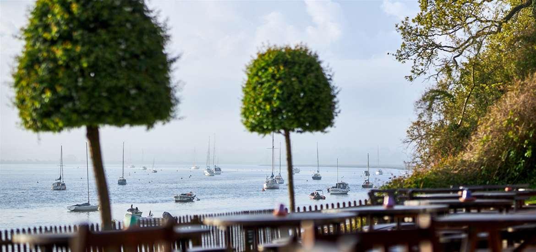 The Maybush - riverside dining Suffolk