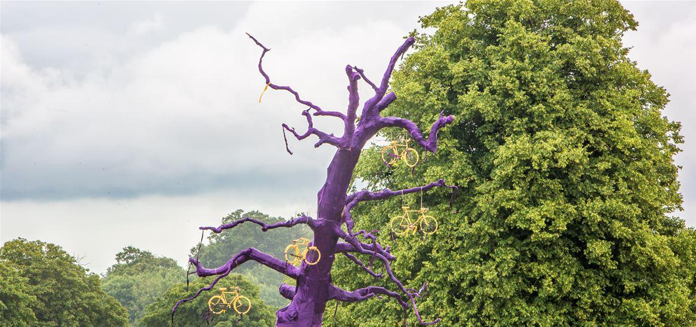 FolkEast - Purple Tree