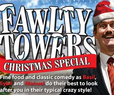 Fawlty Towers Christmas Special at Ufford Park