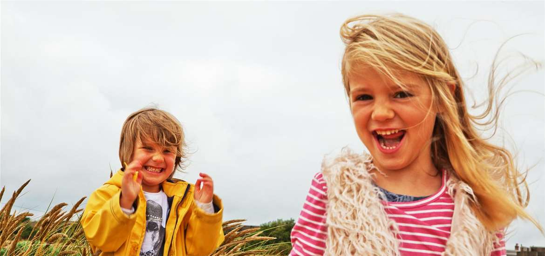 Felixstowe - Children on Beach - (c) Emily Fae Photography