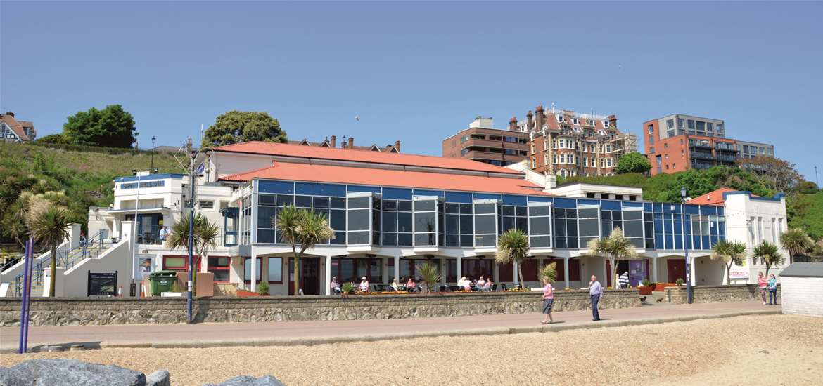 Things to Do  - Attractions - Felixstowe Spa Pavillion - Beach View