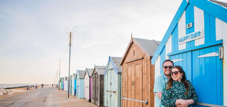 Towns & Villages - Felixstowe - Beach huts