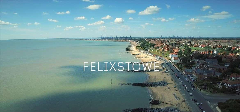 Felixstowe Aerial View