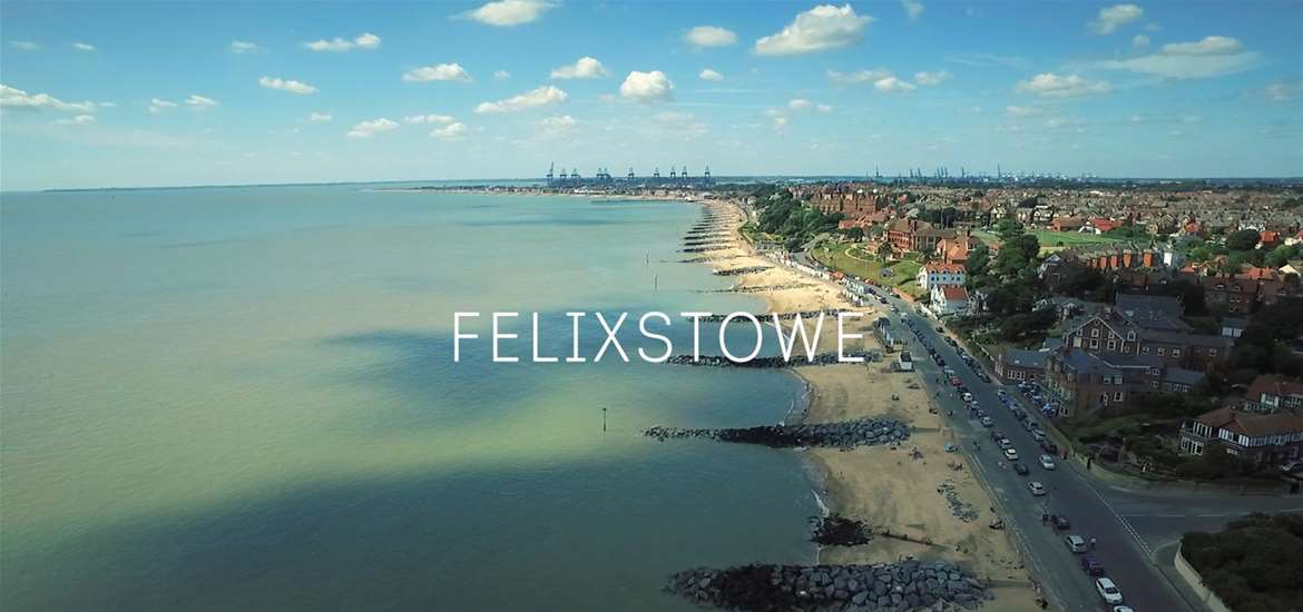 Felixstowe Aerial - The Suffolk Coast