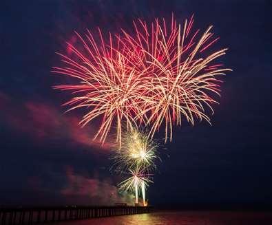 Fireworks Display Chirstchurch Park