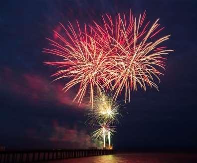 Aldeby fireworks spectacular