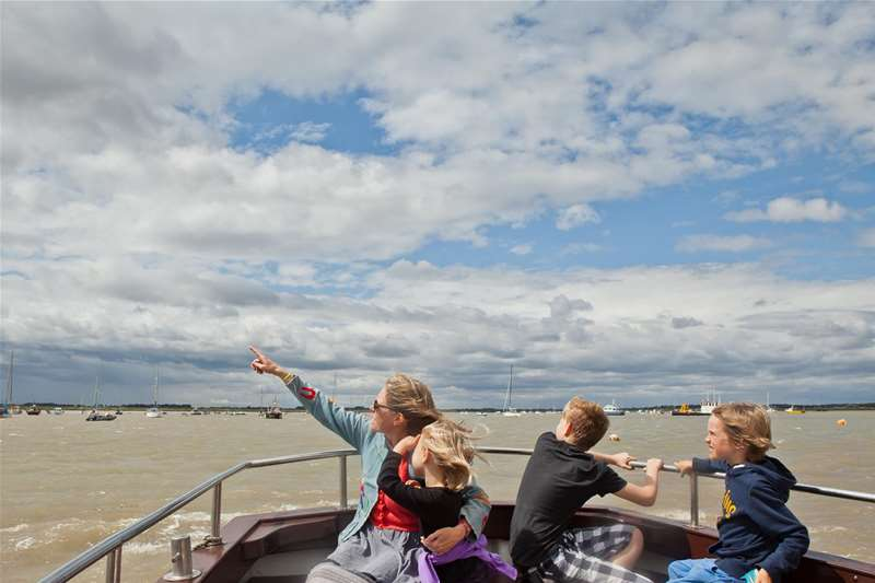 Towns & Villages - Felixstowe - Felixstowe ferry