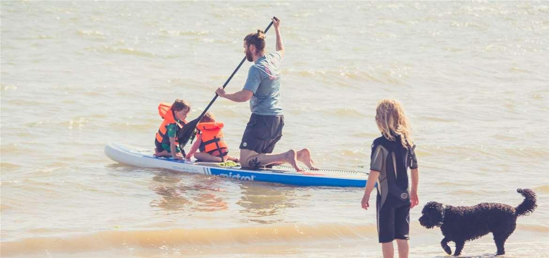 TTDA - Felixstowe Beach - Paddleboarding