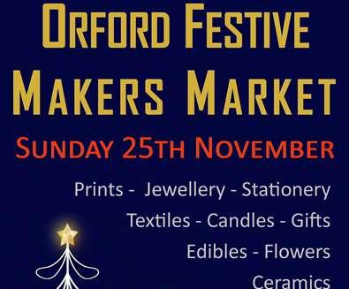 Orford Festive Makers Market