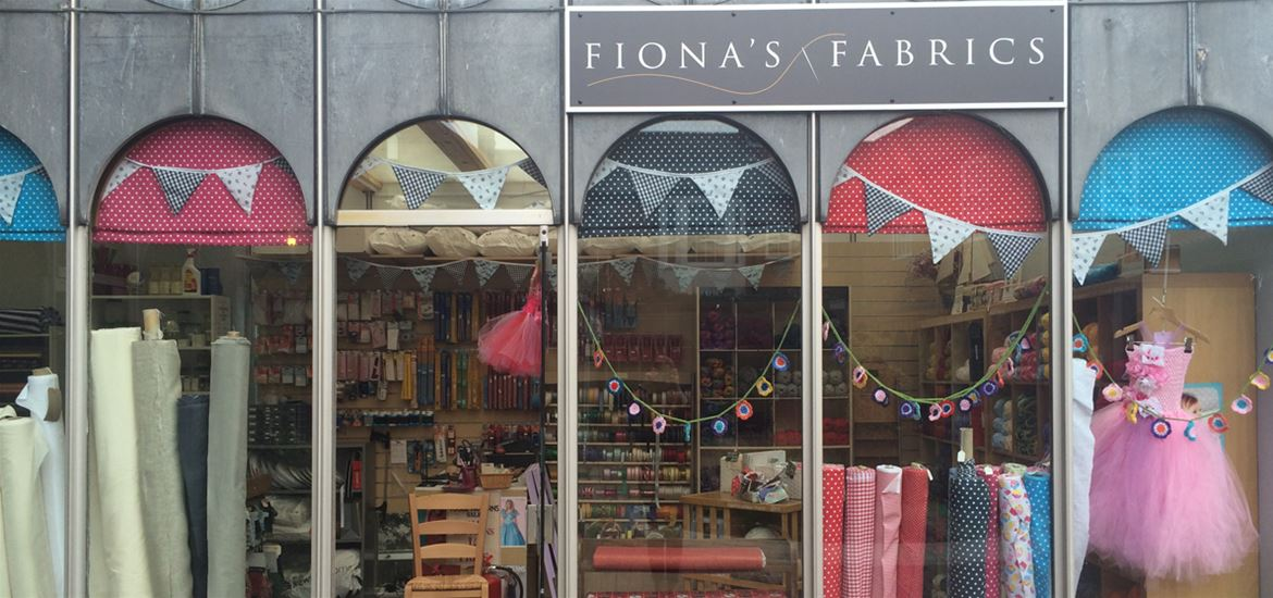 Fiona's Fabrics-Attractions-Shop Front
