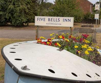 The Five Bells Inn Wrentham Suffolk Boat