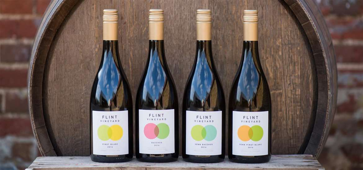 TTDA - Flint Vineyard - Bottles of wine