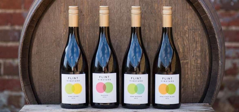 TTDA - Flint Vineyard - Bottles of wine