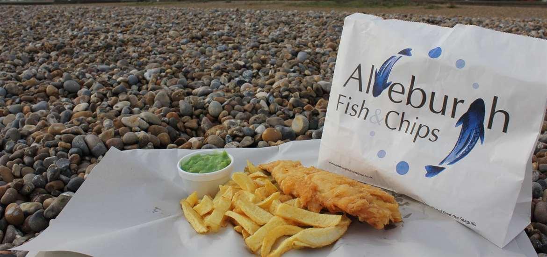 FD - Aldeburgh Fish & Chips - On Beach