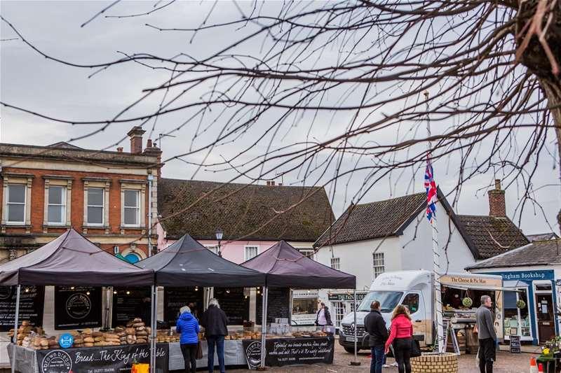 Towns & Villages - Framlingham -  market place