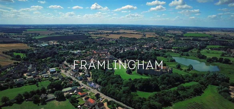 Framlingham Aerial View