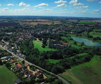 Towns & Villages - Framlingham - Aerial