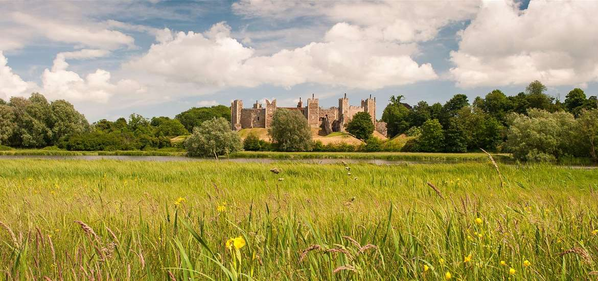 Framlingham Castle The Suffolk Coast