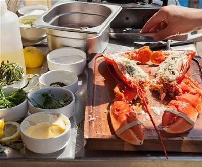 Fresh Lobster on Aldeburgh Beach