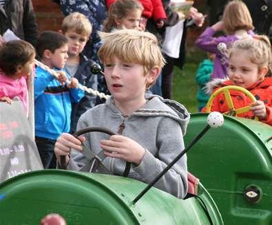 February half term fun at Easton Farm Park