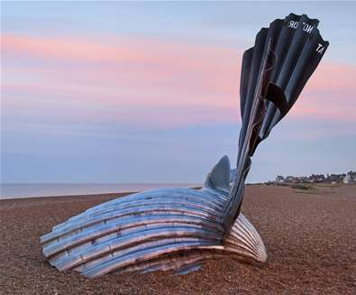 Aldeburgh Beach - credit Gill Moon