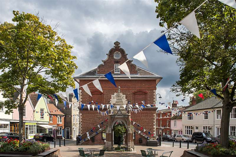 Towns & Villages - Woodbridge - Shire Hall (c) Gill Moon Photography