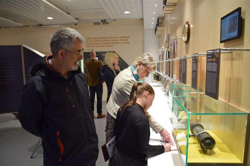 TTDA - Bawdsey Radar - family in gallery