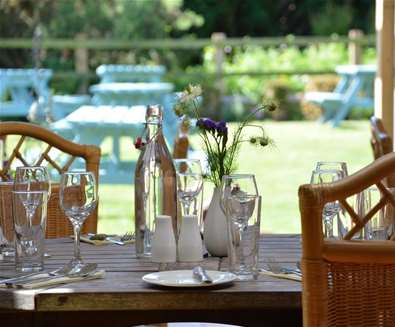 Dining at The Dolphin Inn