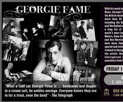 Georgie Fame in Concert..
