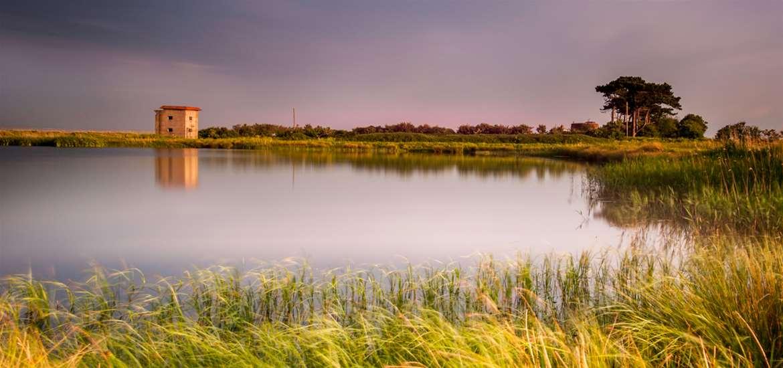 Deben Peninsula on the Suffolk Coast by Gill Moon