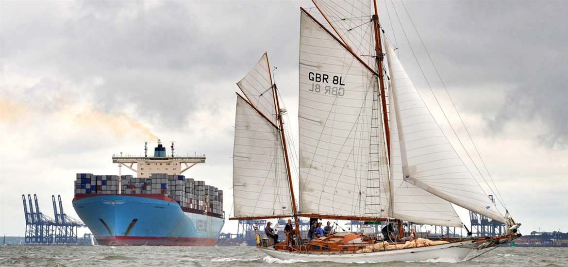 Spectacular sailing experiences on the Suffolk Coast