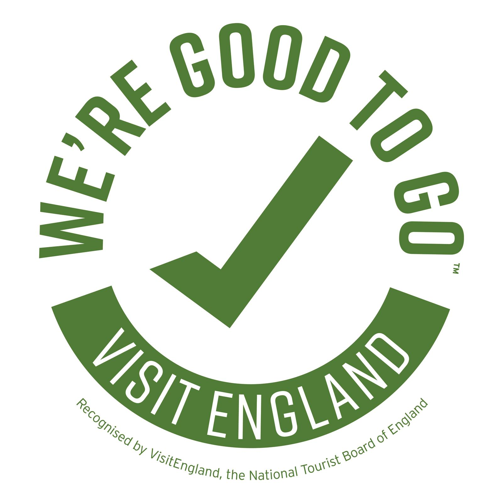 We're Good to Go-VisitEngland Covid-19 accreditation scheme