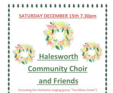 Halesworth Community Choir Christmas Concert