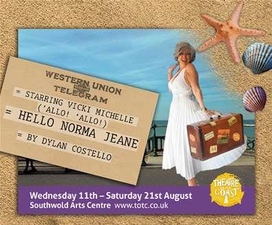 Theatre on the Coast - Hello Norma Jeane