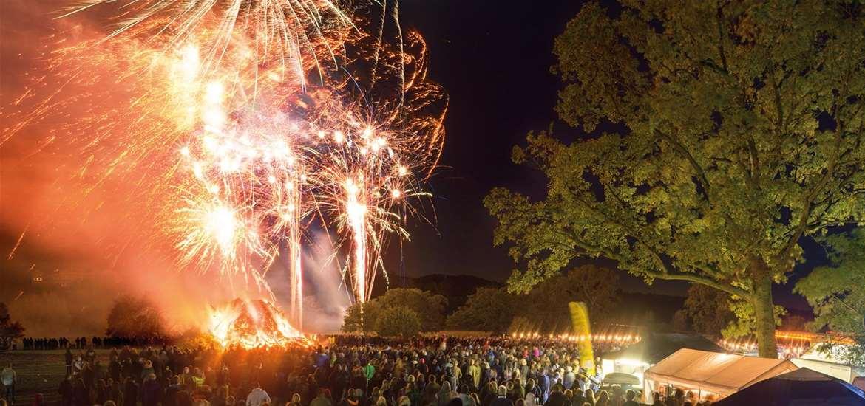 TTDE - Heveningham Hall Fireworks